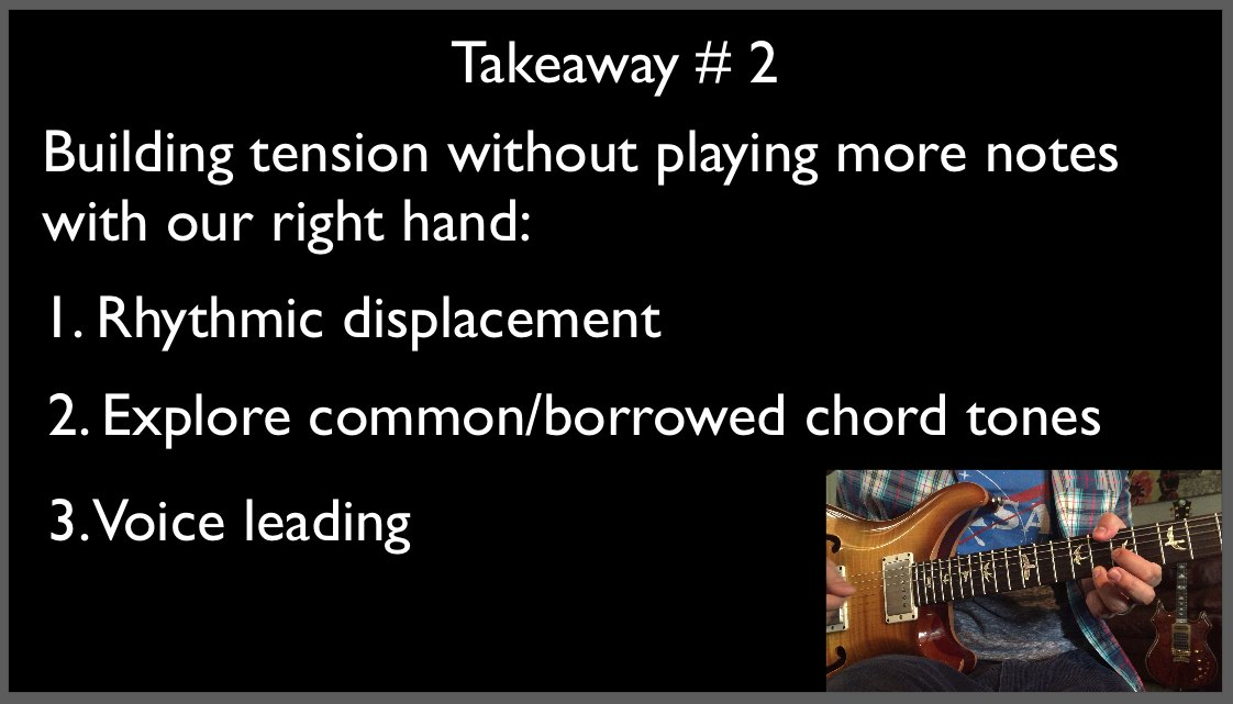 Trey Anastasio Guitar Lesson The Anchor Slide Improvisation