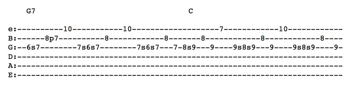 Trey Anastasio Guitar Lesson - The Anchor Slide Improvisation ...