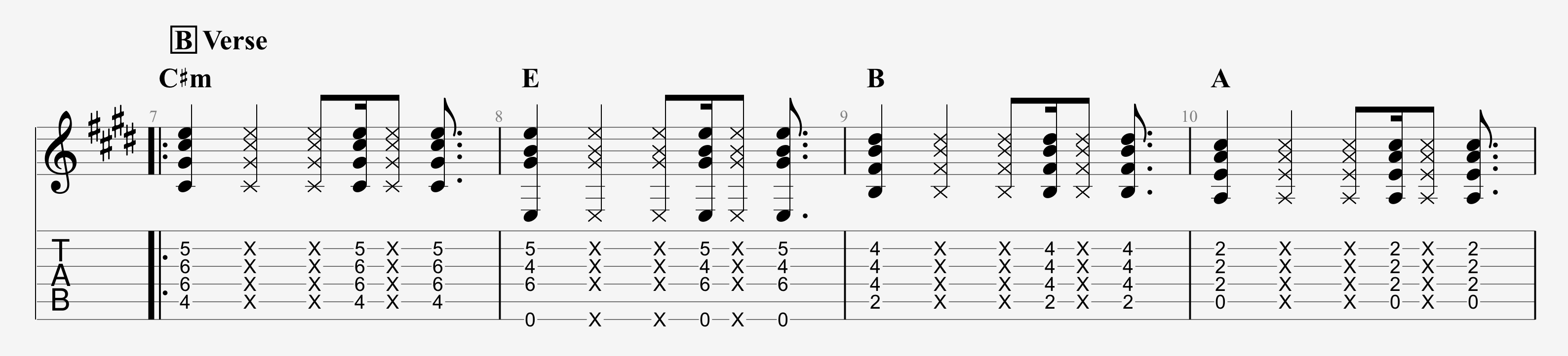 Dead And Company Guitar Lesson Brown Eyed Women Rhythm Technique